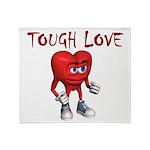 tough-love Throw Blanket