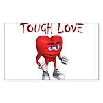 tough-love Sticker (Rectangle 10 pk)