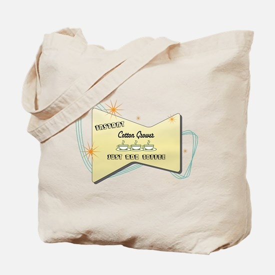 Instant Cotton Grower Tote Bag