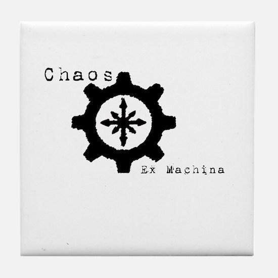 Funny Deus Tile Coaster