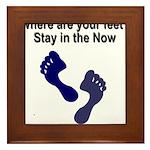 where-are-feet Framed Tile