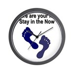 where-are-feet Wall Clock