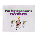 sponsors-favorite Throw Blanket
