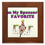 sponsors-favorite Framed Tile