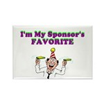 sponsors-favorite Rectangle Magnet (100 pack)