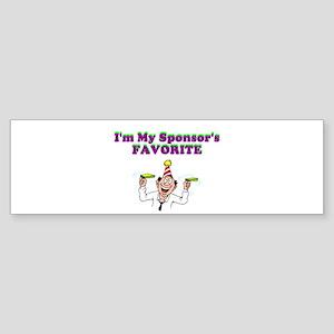 sponsors-favorite Sticker (Bumper)