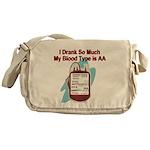 blood-type Messenger Bag