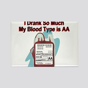 blood-type Rectangle Magnet