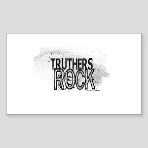Truthers Rock Sticker
