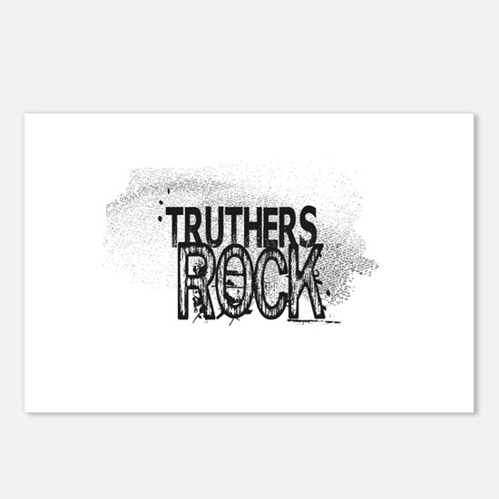 Truthers Rock Postcards (Package of 8)