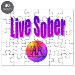 live-sober-aa Puzzle