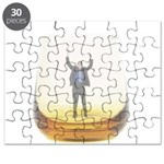 man-in-glass Puzzle
