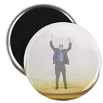man-in-glass Magnet