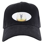 man-in-glass Black Cap with Patch