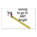 any-length Sticker (Rectangle 10 pk)