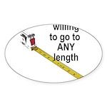 any-length Sticker (Oval 50 pk)