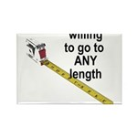 any-length Rectangle Magnet (100 pack)
