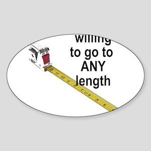 any-length Sticker (Oval)