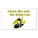 liten-like-dying Sticker (Rectangle 50 pk)