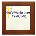 chalk-talk Framed Tile