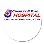 charles-r-towns Round Car Magnet