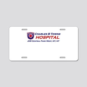 charles-r-towns Aluminum License Plate