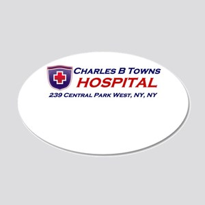 charles-r-towns 20x12 Oval Wall Decal