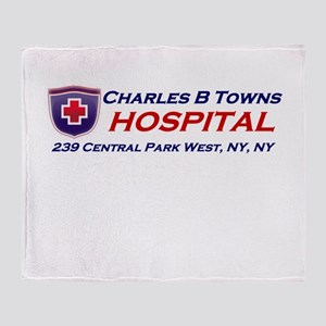 charles-r-towns Throw Blanket