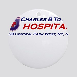 charles-r-towns Round Ornament