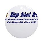 kings-street-group Round Ornament