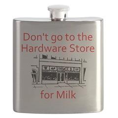 hardware-store-milk Flask