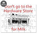 hardware-store-milk Puzzle