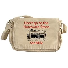 hardware-store-milk Messenger Bag