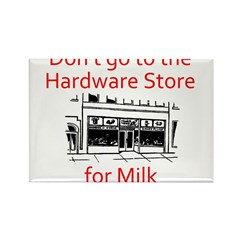 hardware-store-milk Rectangle Magnet (10 pack)