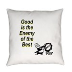 good-enemy-best Everyday Pillow