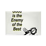 good-enemy-best Rectangle Magnet (10 pack)