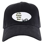 good-enemy-best Black Cap with Patch