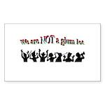 not-a-glum-lot Sticker (Rectangle 10 pk)