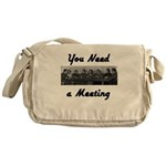 you-need-meeting Messenger Bag