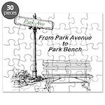 park-avenue-park-bench Puzzle