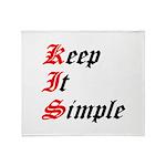 keep-it-simple Throw Blanket