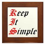 keep-it-simple Framed Tile