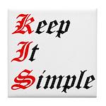 keep-it-simple Tile Coaster