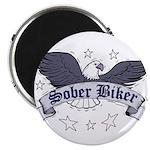sober-biker Magnet
