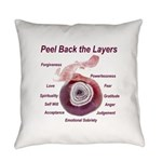 peel-back-layers Everyday Pillow