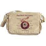 peel-back-layers Messenger Bag