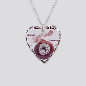 peel-back-layers Necklace Heart Charm