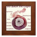 peel-back-layers Framed Tile
