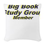 big-book-study-group Woven Throw Pillow
