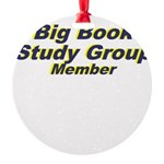 big-book-study-group Round Ornament